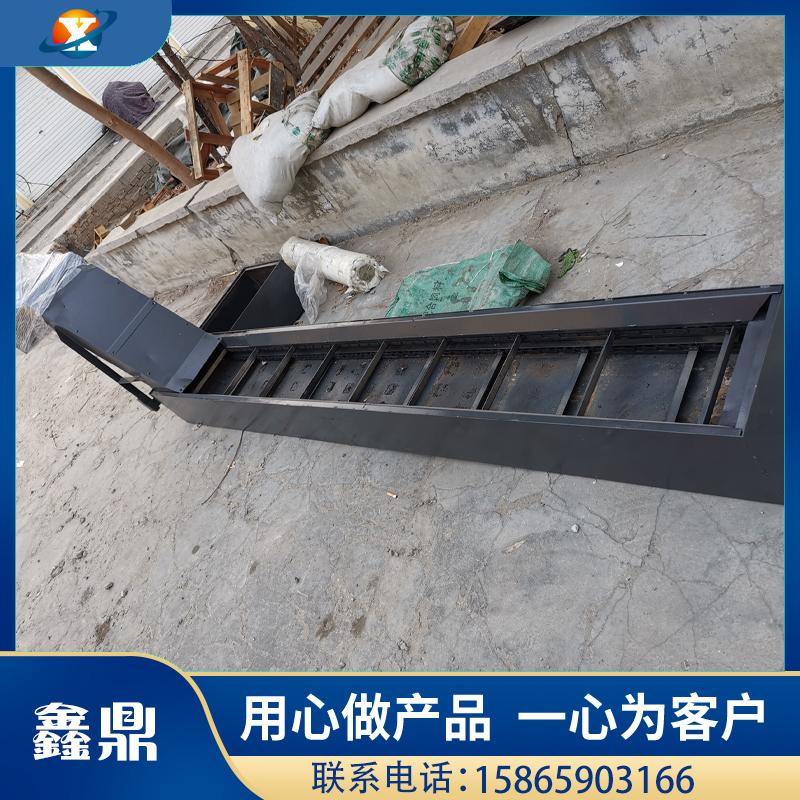 刮板式机床排屑机