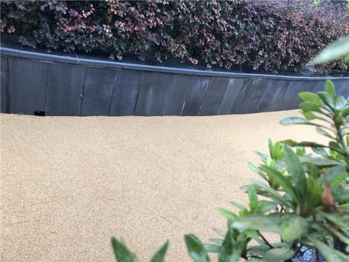 彩色天然砂地坪
