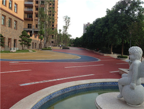 彩色混凝土地面