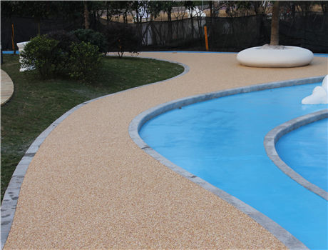 重庆彩色露骨料混凝土地坪铺设价格