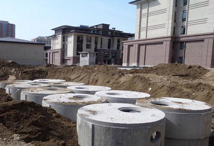 厨房污水和生活污水最终归宿-小区化粪池