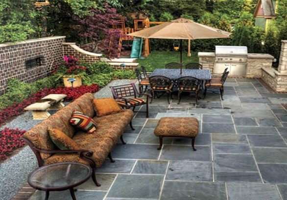 庭院铺装设计