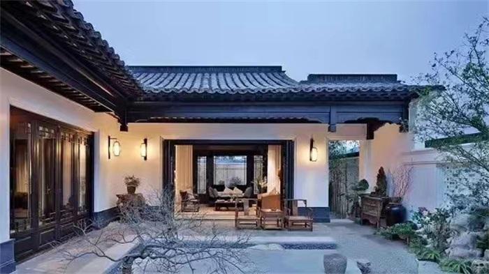 现代别墅庭院设计的风格与规划特征