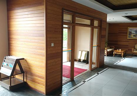 防腐木室内装饰板