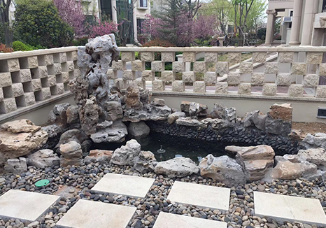 庭院假山石