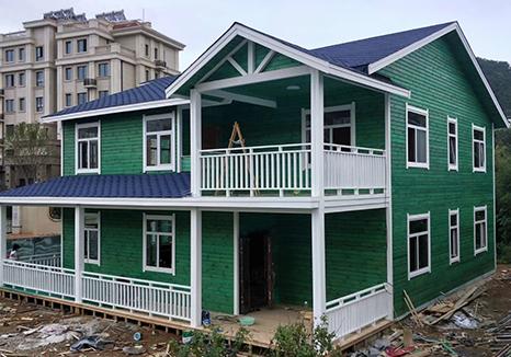 欧式木屋别墅