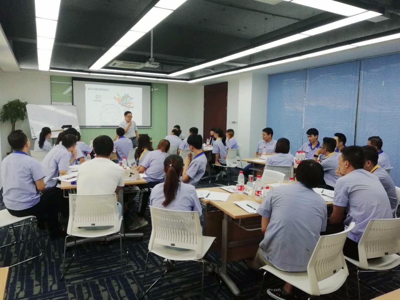 公司举办班组长第三阶段《问题分析与解决》培训