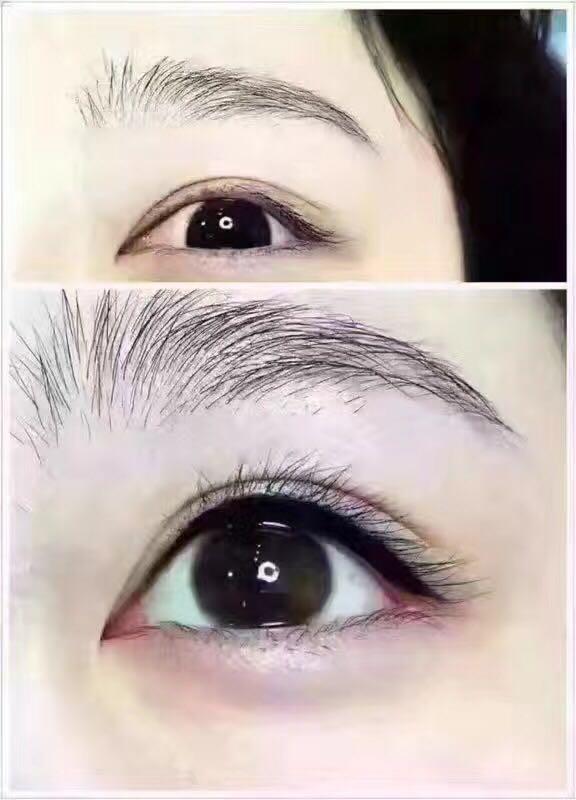 眉毛及美瞳线修复课程