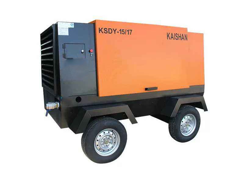 KSDY电动移动式螺杆空压机