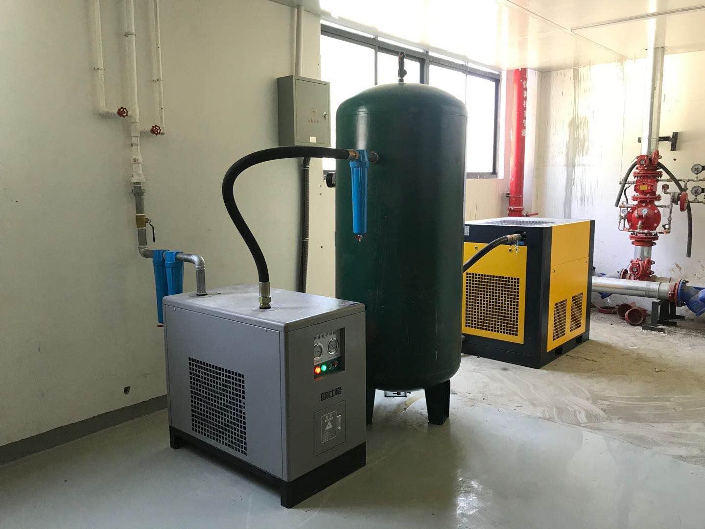 安康漢濱區螺桿空壓機安裝案例