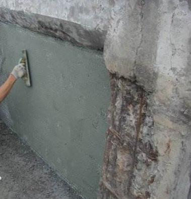 混凝土修補施工