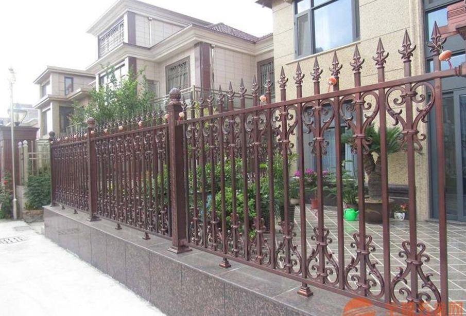 福州别墅铝艺护栏