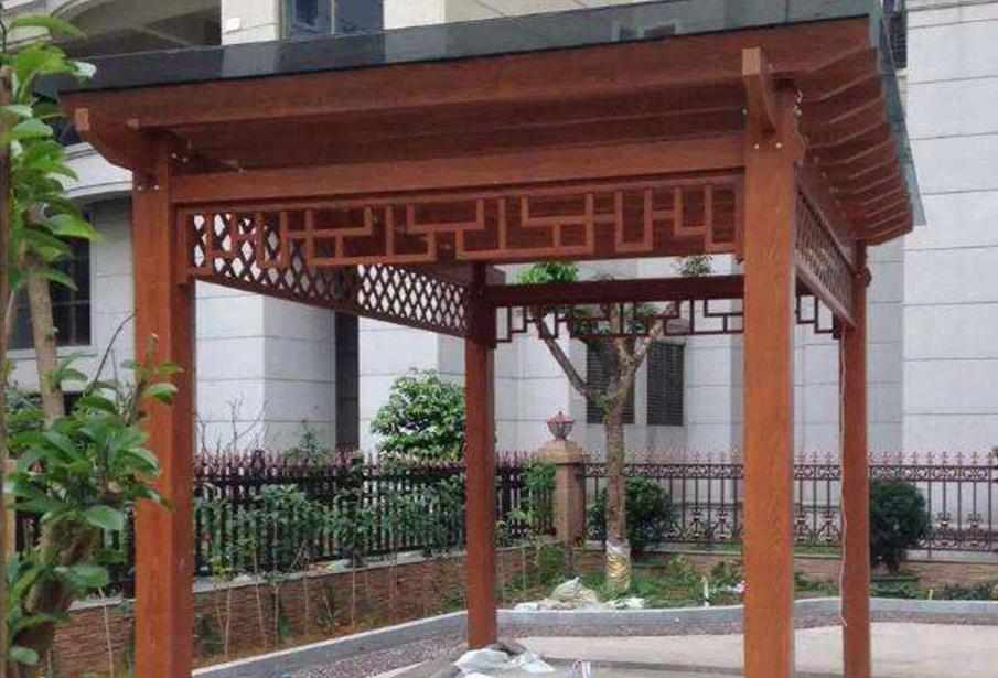 福州塑木葡萄架