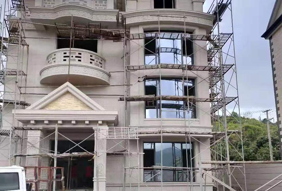 长乐别墅铝合金门窗