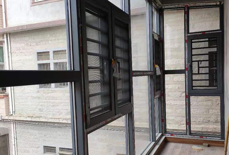 福州别墅推拉门窗