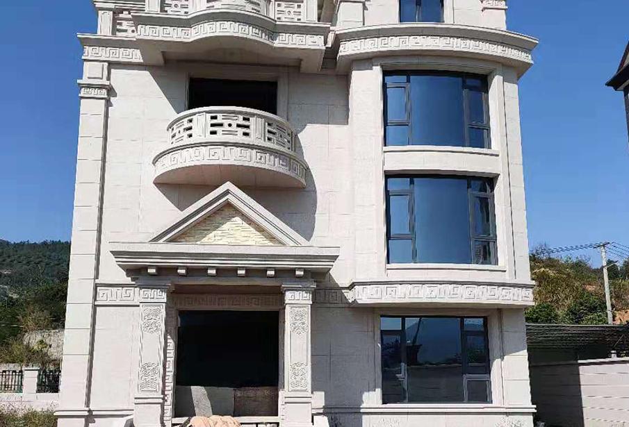 长乐别墅万博客户端登录不了铝门窗案例