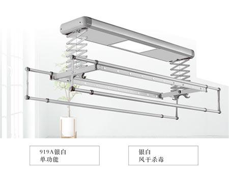 919A银白电动晾衣架