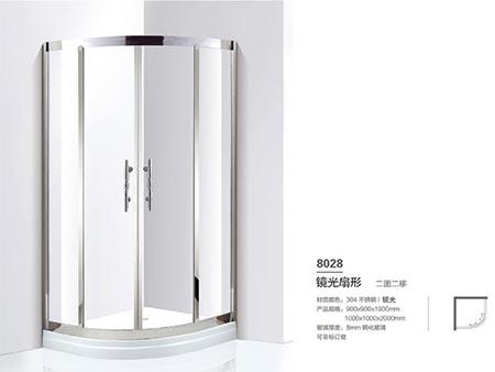 8028圆弧型淋浴房