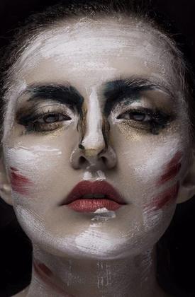 化妆造型实操作品