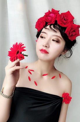 学员化妆造型作品