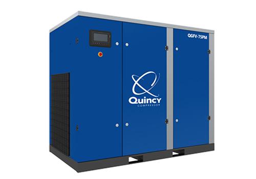 QGFV PM喷油螺杆空气压缩机