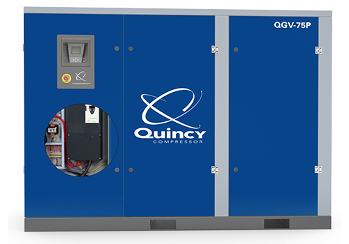 Quincy Great Variable Drive Plus– QGVP噴油螺桿空氣壓縮機