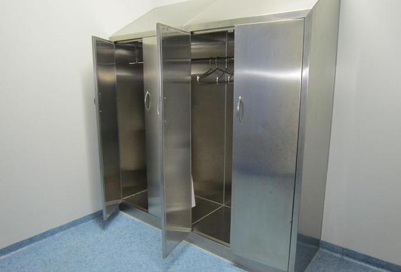 不锈钢多功能衣柜