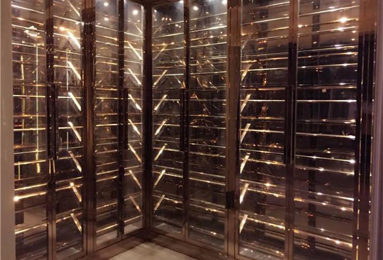 不锈钢酒柜架