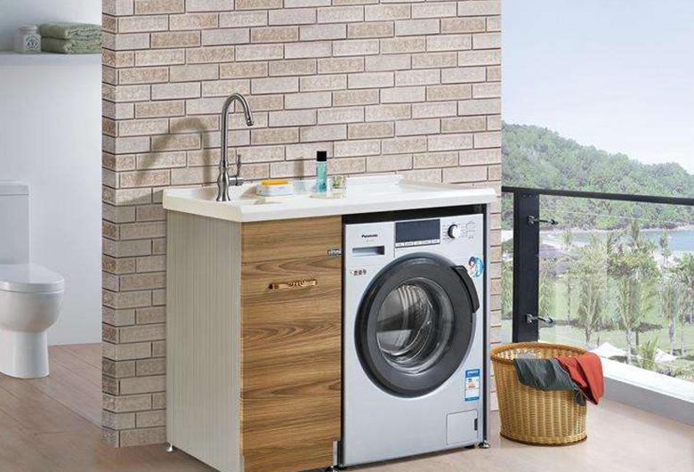 不锈钢阳台洗衣机柜