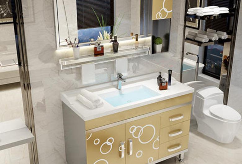 不锈钢成品浴室柜