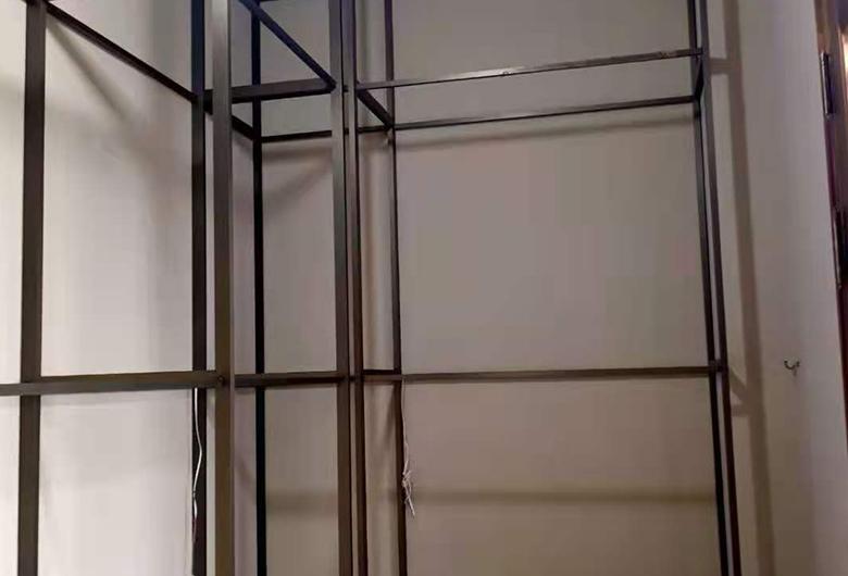 搭建不锈钢橱柜