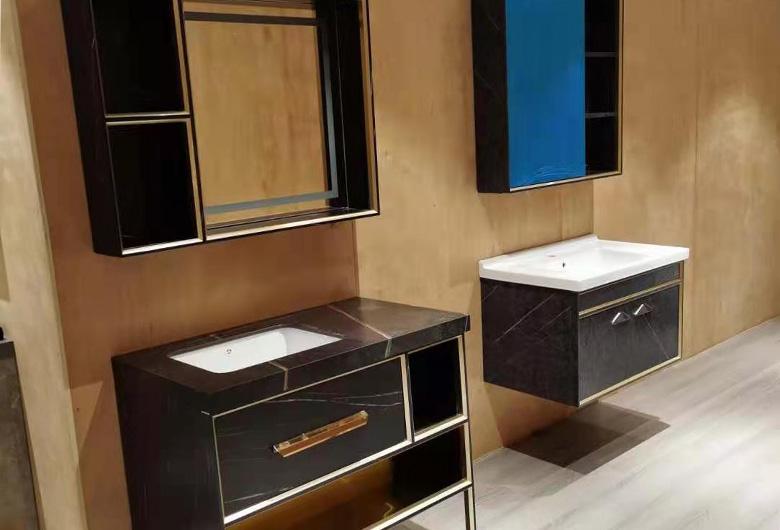 不锈钢酒店浴室柜