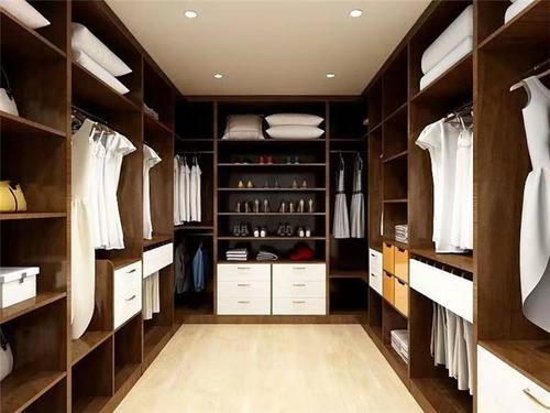 福建卧室不锈钢衣柜这样设计,惊艳四面八方