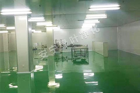 云南食品厂生产车间