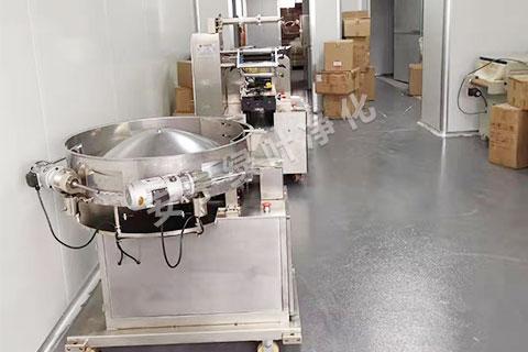 云南食品的炒制车间洁净工程