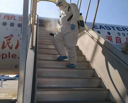 飞机消毒防疫