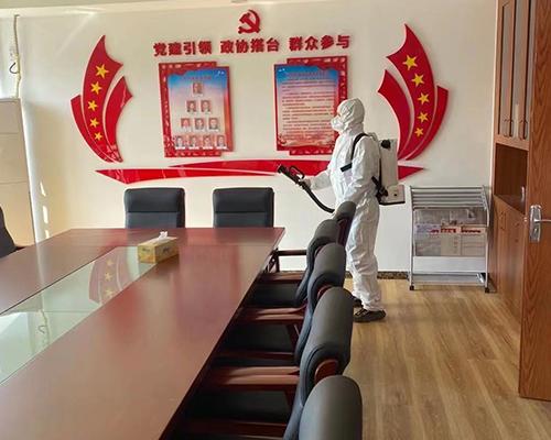 会议室消毒防疫