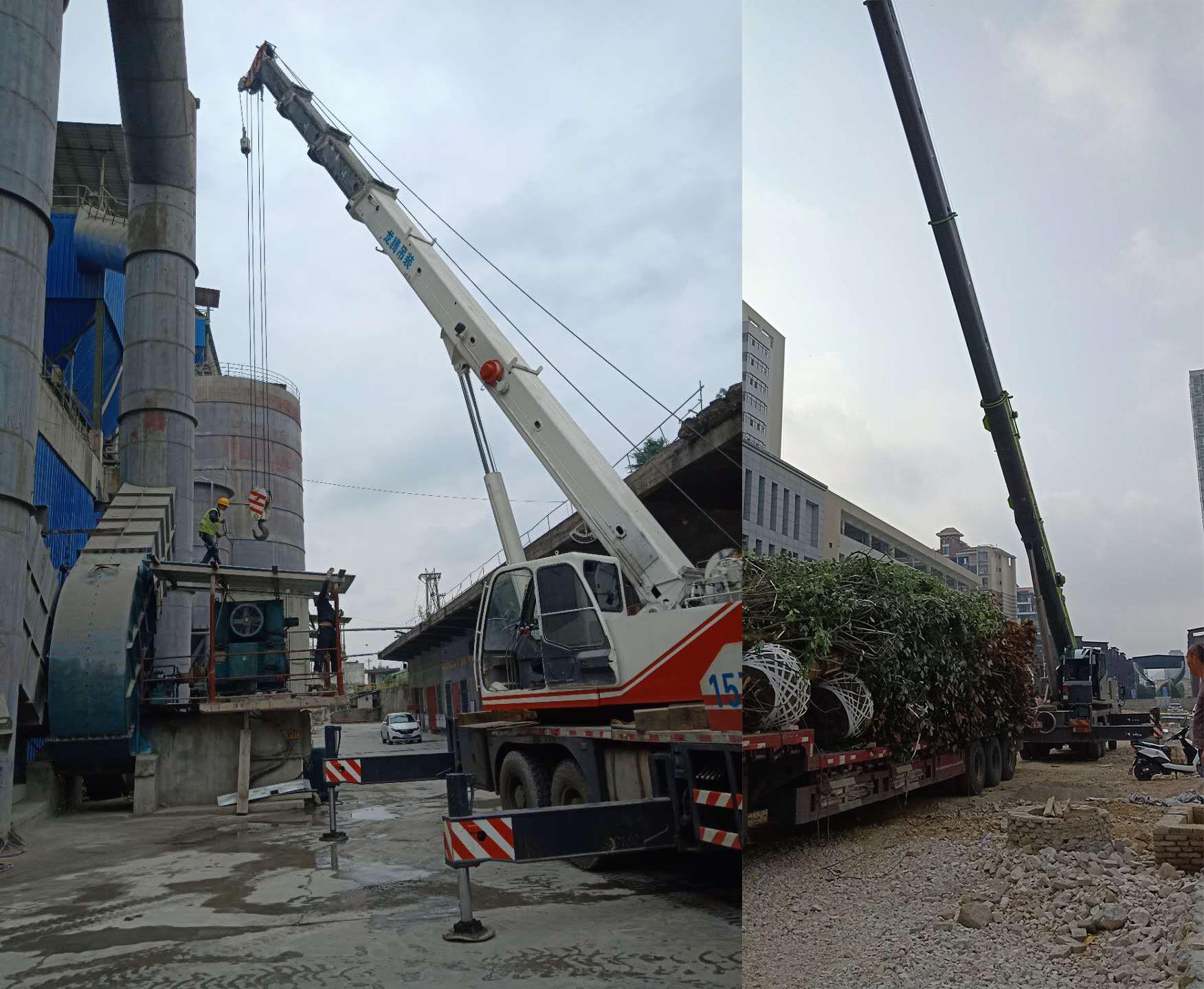 安顺200-300吨吊车案例