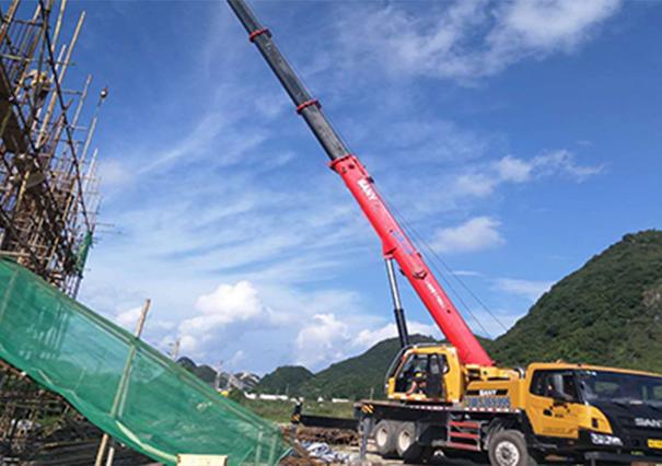 8吨吊车案例