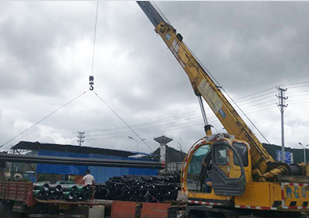 16吨吊车案例