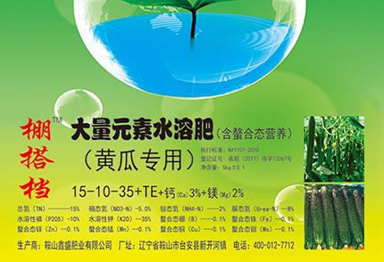 黄瓜专用大量元素水溶肥--平衡