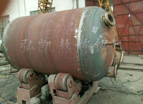 弘凯动物油设备熬炼锅