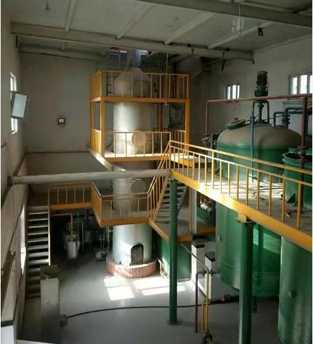 精炼油设备图片