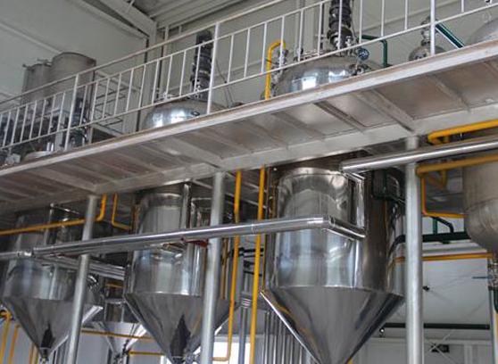 菜籽精炼油设备厂家