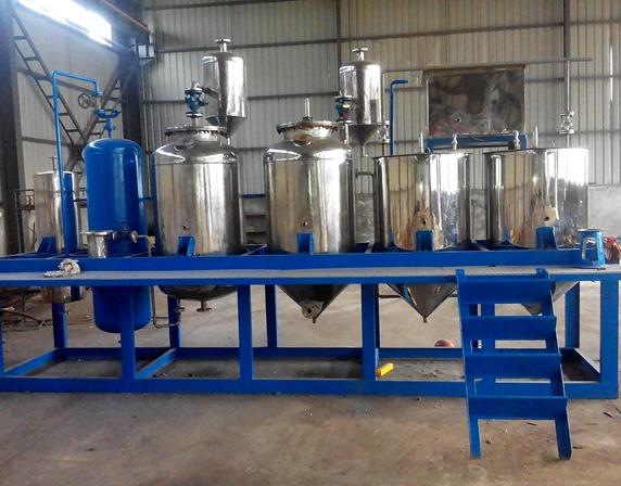 牡丹籽油精炼设备