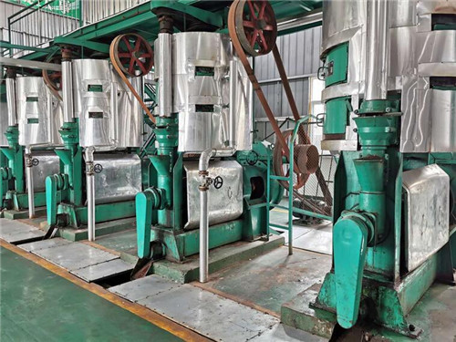 植物油榨油工段