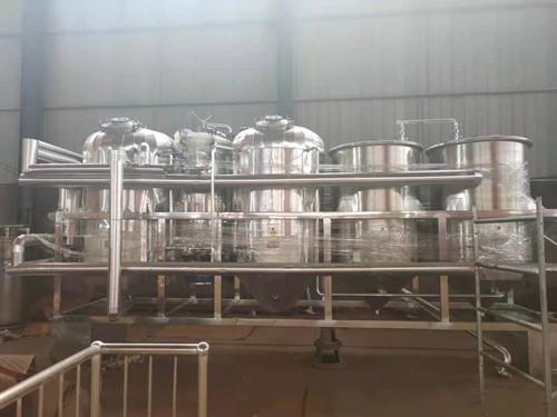 茶籽油精炼设备(2T不锈钢)