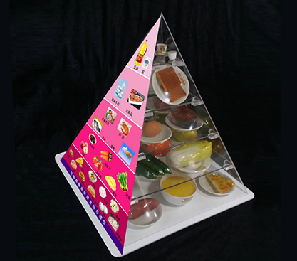 晚餐不知道选什么?安阳膳食宝塔模型厂家有三个原则