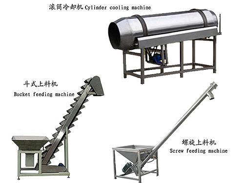 碾米生产线上的输送设备