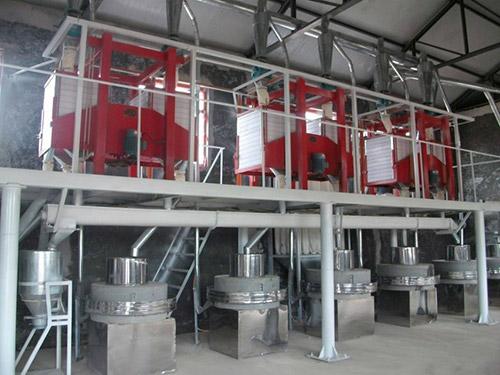 小米加工设备的清洁步骤